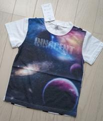 110★宇宙柄Tシャツ★新品