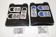 2色から選択 アルミペダルセット(MT用) 滑り止めゴム付