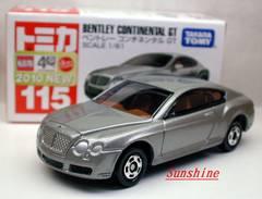 ★絶版トミカ115 ベントレー コンチネンタル GT