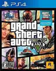新品即決 PS4 グランドセフトオートV グランドセフトオート5 送料無料