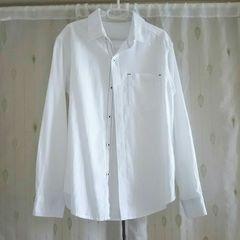 美品◆MPS◆シンプル白シャツ*140
