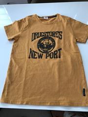 ドラッグストアーズ★半袖Tシャツ★2★からし色
