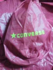 CONVERSE コンバース コンパクト パーカー ジャケット ジャンパー ピンク Lサイズ 袋付
