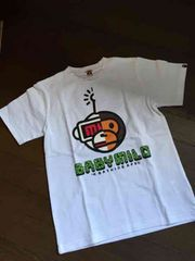 A BATHING APE☆MILO柄Tシャツ・新品