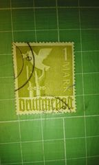 旧西ドイツ1MARK切手(鳩・手錠)♪