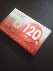 TDKハイポジションカセットテープ 120分《未開封》送料140円