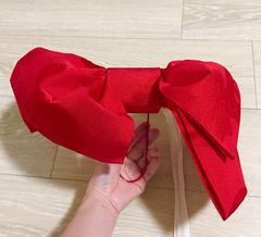 簡単!浴衣ゆかた結び帯付け帯作り帯平帯セットアシンメトリー