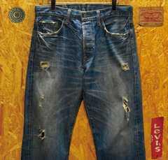 ◆廃盤2000本限定品◆リーバイス03501-01・W32(86cm)・股下71cm