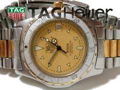極レア 1スタ★タグ・ホイヤー 2000プロ【スイスメイド】腕時計