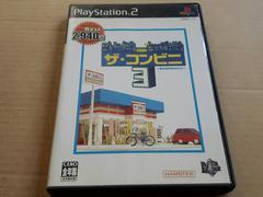 PS2☆ザ コンビニ3☆状態良い♪LAWSONコラボ。