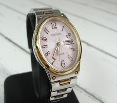 500スタ★本物正規シチズンエコドライブ腕時計E001-SO49091