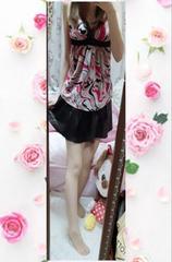 フェイクレザーミニスカート(^з^)-☆
