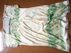 フランシュリッペ●動物と森柄のゆるワンピ・リボン刺繍