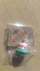 ミニチュアカフェタイムマスコット苺ケーキ&エメラルドグリーンプレート