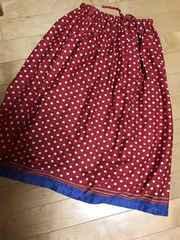 リンネル  スカート  4104円