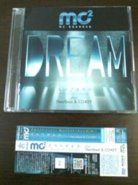 (CD+DVD)mc2<CO-KEY&MAST>☆ユメノカケラ「ピースオブドリーム」feat.Heartbeat