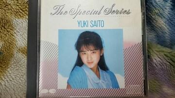 斉藤由貴 THE SPECIAL SERIES ベスト 85年盤