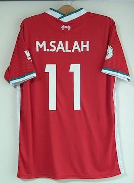 新品☆モハメド・サラー☆リバプール☆赤11番半袖☆エジプト代表
