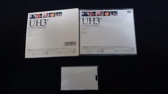 宇多田ヒカル SINGLE CLIP COLLECTION VOL.3 DVD 初回限定版 < タレントグッズの