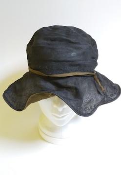 帽子★シルク100%★中古品