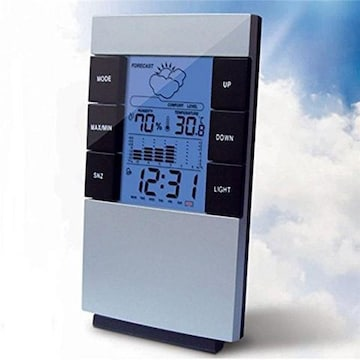 即納★乾燥は美肌の大敵!温湿度計 デジタル 時計