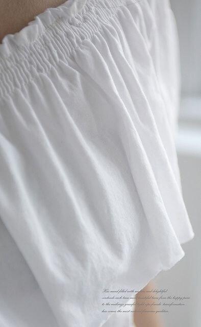 送料無料(^^)フリフリ♪フリルトップス★フリー/黒/白/綿100% < 女性ファッションの