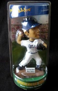 野茂英雄 ドジャース時代 ボブルヘッド MLB100勝記念 未開封