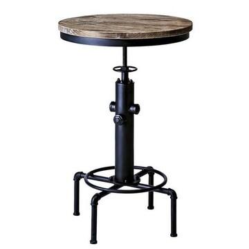 バーテーブル ブラック KNT-A801_BK