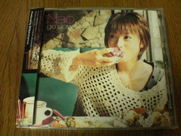 Nao CD go slow ケツメイシRYOJI P