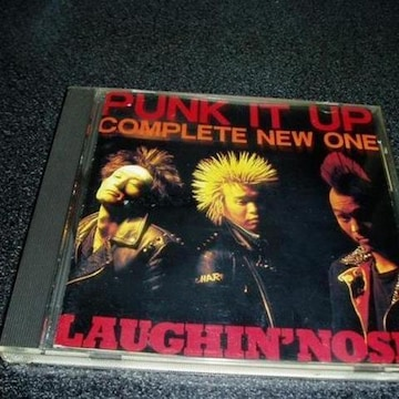CD「ラフィンノーズ/PUNK IT UP」LAUGHIN'NOSE 91年盤