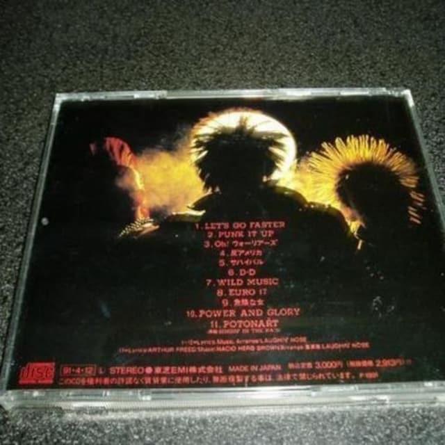 CD「ラフィンノーズ/PUNK IT UP」LAUGHIN'NOSE 91年盤 < タレントグッズの