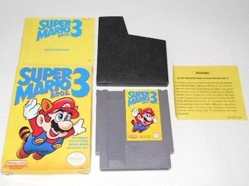 FC★SUPER MARIO BROS. 3 NES 海外版(国内本体動作不可)