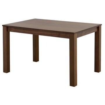 ダイニングテーブル(120cm幅) ブラウン LUM70-120T_BR