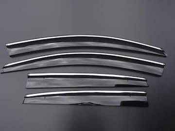 安心ビス付き♪メッキモール付き ドアバイザー CR-V RM1 RM4