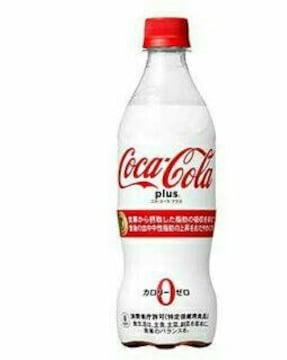 送料無料 96本 470ml コカコーラ プラス 24本×4 トクホ ゼロ
