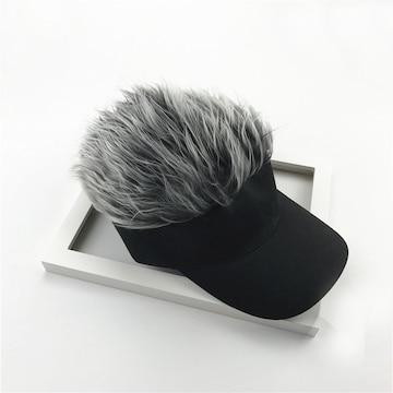 サンバイザー シルバー 帽子