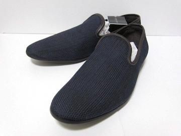 □ZARA/ザラ レザー スリッポン/シューズ/靴/メンズ・27.5cm☆新品