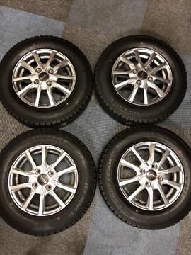 0082895)激安国産グッドイヤ-スタッドレスタイヤ AW4本セット145/80R13送料無料