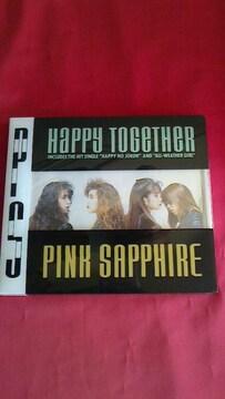 ☆中古CDアルバム【『Happy Together』PINK SAPPHIRE】CDケース新品