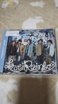 新品『Love Rainbow』 [限+DVD][CDシングル]嵐