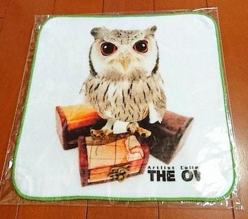 ♪新品袋入り♪THEOWL(THEDOG)♪ミニタオル♪フクロウ