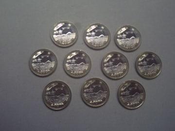 ★地方自治60周年500円貨(香川県) 10枚★