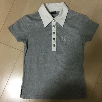 XOXO.キスキス/150 襟付きTシャツ グレー