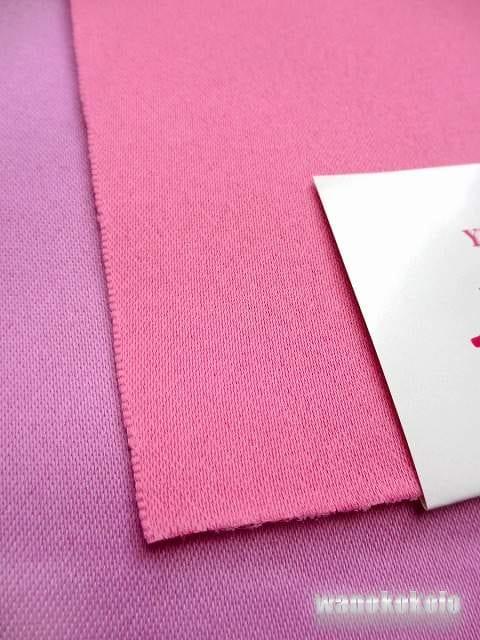 【和の志】無地リバーシブル帯◇ピンク系×藤系◇MO210 < 女性ファッションの