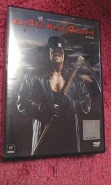WWEバックラッシュ2008DVD(エッジ,アンダーテイカー,バティスタ,ジョンシナ等)