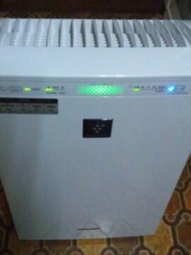 SHARP加湿空気清浄機プラズマクラスター7000アレル物質菌ウイルス抑制