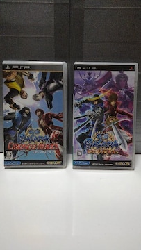 PSP 戦国BASARA バトルヒーローズ & クロニクルヒーローズ