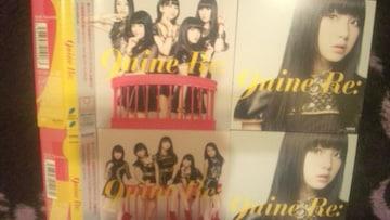 激安!超レア!☆9nine/Re:☆初回盤A.B/2CD+2DVDカード付!☆超美品!☆