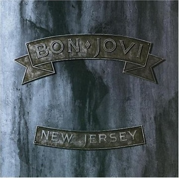 Bon Joviボンジョビ歴史的名盤アルバム 「NEW JERSEY」日本盤.対訳付
