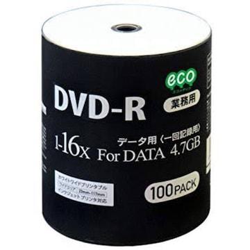 HI-DISC データ用DVD-R DR47JNP100_BULK (16倍速/